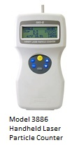 Kanomax Moddel 3886 Handheld Laser Particle Counter