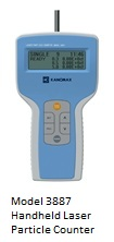 Kanomax Model 3887 Handheld Laser Particle Counter