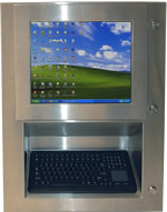 Rugged NEMA 4X (IP66) Panel PC Computer