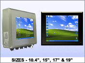 VarTech NEMA 4/NEMA 4X Fully-Enclosed All-in-One Computers with LCD