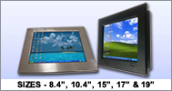 VarTech Rugged NEMA 4 (IP65) & NEMA 4X (IP66) Panel PC Touchscreen Computers