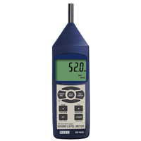 REED SD-4023 SOUND LEVEL METER/DATALOGGER