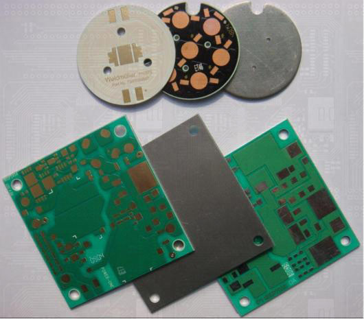 Metal-clad Base Material Printed Circuit Boards