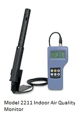 Model K2211 Handheld Indoor Air Quality Meter