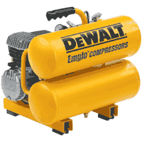 Dewalt 2-3/4 HP 4 Gallon Electric Hand Carry Compressor�D55153