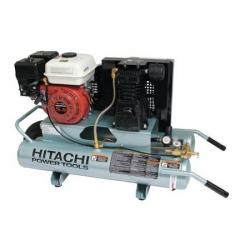 Hitachi  PORTABLE GAS 5.5 HP HONDA 8 GAL AIR COMPRESSOR HIT EC25E