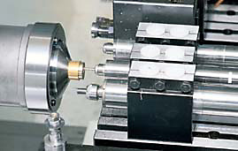Pneumatic Spindles for Swiss Machines, Lathes, Specialty Machines, Robots
