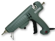 "PRO9500A Adjustable Temperature 220 Watt Glue Gun, 7/16"" x 10"" Long Diameter Glue Sticks"