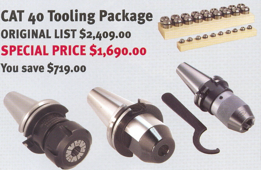 CAT 40 Tooling Package
