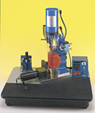 "AB-150 ERGONOMICAL WORKSTATION BENCHTOP MANUAL PLASTIC INJECTOR  (4"" CYL. 6333 psi)"