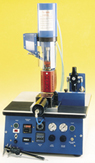"AB-200 SEMI-AUTOMATIC PLASTIC INJECTOR BENCH TOP (4"" CYL. 6333 psi)"