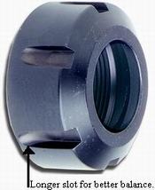 Techniks Power Coat Collet Nuts 41932