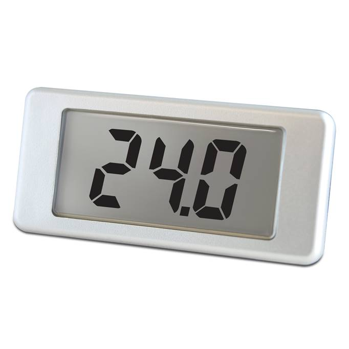Lascar Electronics 2-Wire LCD Voltmeter with Single-Hole Mounting, LCD Display