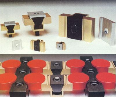Machinable Uniforce Clamp Assembly with Locking Plate, Model 1000