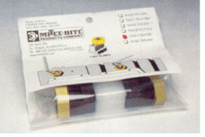"""Standard T-Slot Clamps 1/2"""" T-Slot Size, Uses Cam Screw 10371. 2 Clamps per Pack"""