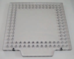 "OPEN-SIGHT  Vision FIXTURE PLATE-.5 Polycarbonate 6""x6"""