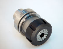 Techniks HSK 63F x ER 40 - 125 with #46140 nut HSK Tool Holders for CNC RoutersSlotted nut, Toolholder, PartNo.30005