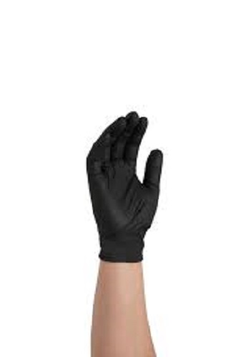 GlovePlus Nitrile Black Powder Free Industrial Gloves, Size S/P  (1,000 gloves)