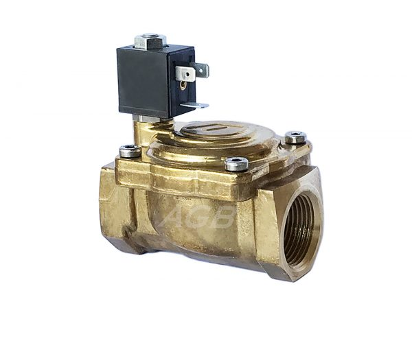 "2-way, 3/8"" NC, FKM, 24VAC, Pilot SV, Power Cord"
