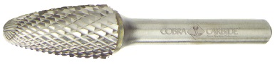 SE-3M Single Cut CRB. Burr