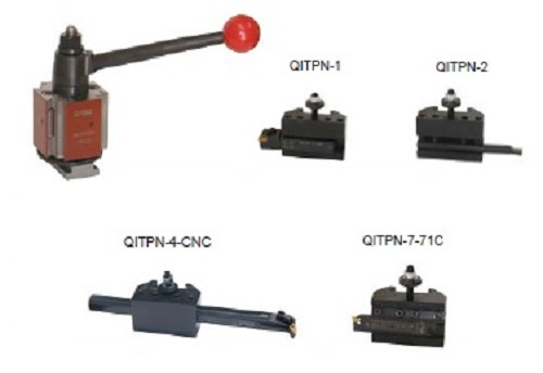"""Quadra Standard Set 5 pc for lathes to 13"""" to 15"""" Swing."""