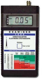 6400-011 Vibration Meter / Electronic Stethescope