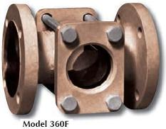 Sight Flow Indicator, Tube type, flange connected 316 stainless steel with 316 ss flapper