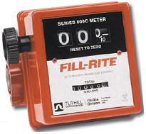 "Fill-Rite Flow Totalizer / Flow Meter 6-40 gpm, 1-1/2"" port"