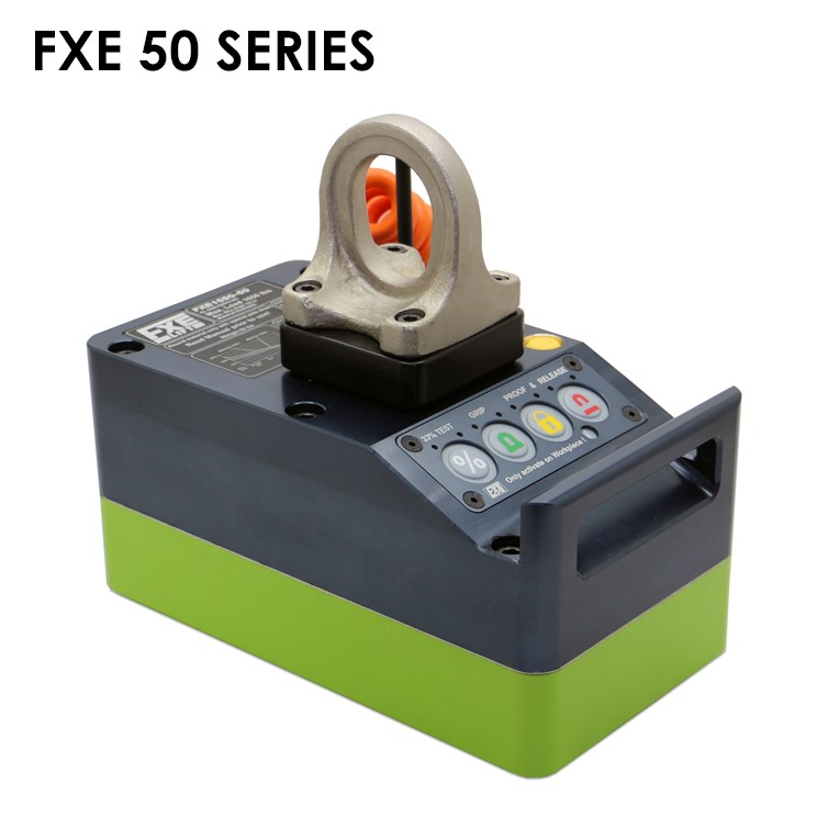 FXE-50 Permanent-Electro Lift Magnet for Thinnrr Smooth parts 1650 lb. Working Load