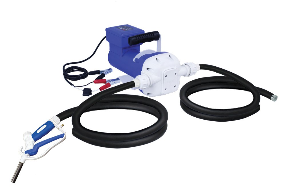 DC DEF KIT w/ 12' output hose and manual nozzle, pump