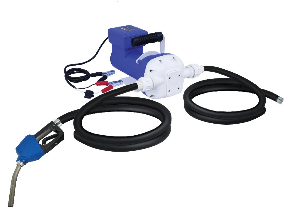 DC DEF KIT w/ 12 ft  output hose and auto shut-off nozzle, pump