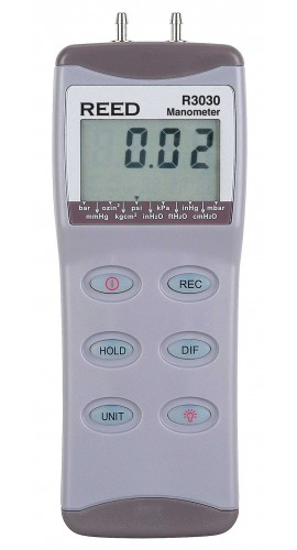 Reed R3030 0 to 30 psi Manometer, 60PSI maximum