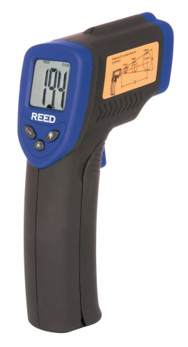 REED ST-8839-NIST IR THERMOMETER, 50:1 -58/1832