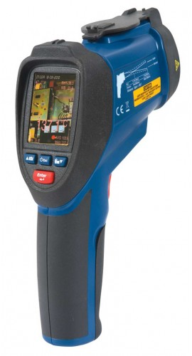 REED R2020 -NIST Dual Laser Video Infrared Thermometer, 50:1, 3992