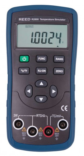 Reed R2800-NIST Temperature Simulator with NIST certification