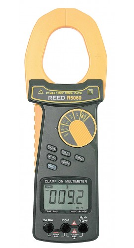 Reed R5060-3 AC/DC Clamp Meter 3 Pack
