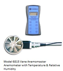 Vane Anemomaster with Temp. / RH