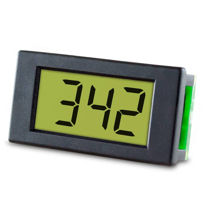 Lascar Electronics Compact 4-20mA Loop Powered LCD Meter, LCD Display