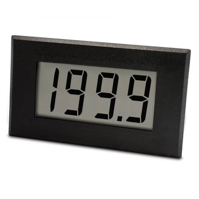 Lascar Electronics Large 4-20mA Loop Powered LCD Meter, LCD Display