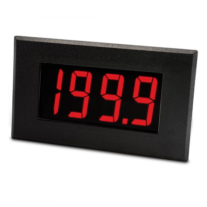 Lascar Electronics Large 200mV LED Voltmeter, LED Display