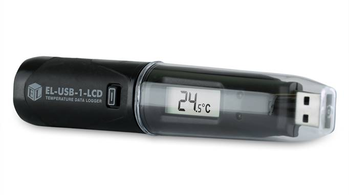 Lascar Electronics EasyLog Temperature Data Logger with USB and display, Temperature Monitoring