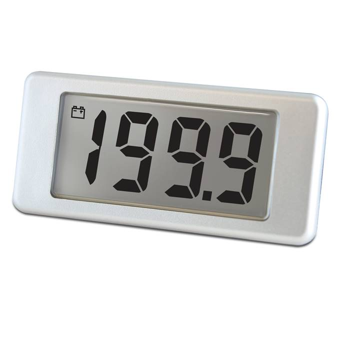 Lascar Electronics 200mV d.c. Voltmeter with Single-Hole Mounting, LCD Display