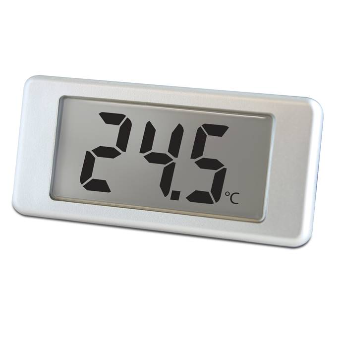 Lascar Electronics Digital LCD thermometer with single-hole mounting, LCD Display
