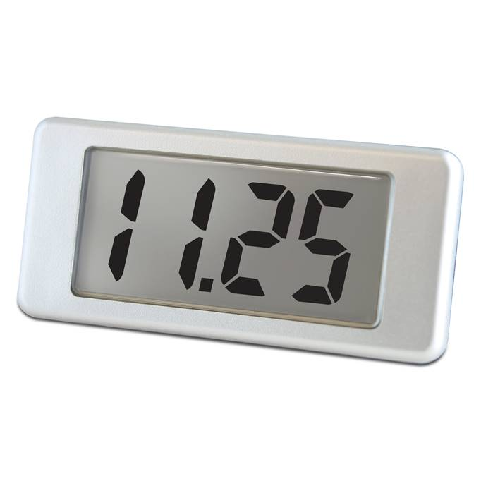 Lascar Electronics LCD Voltmeter with Single-Hole Mounting, LCD Display