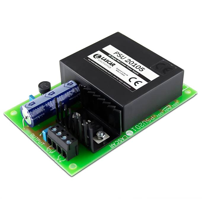 Lascar Electronics Linear 5V / 1A Regulated Power Supply with 115 / 240V a.c. Input, Power Supply