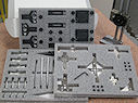 Lean Kit 80+ Pieces including (4) Trigger-Finger™, (4) Cross-Bow™, (8) D-Block™, (3) Trigger-Block™, (4) sets Silver-Bullet™, (2) 7 pc. set Simple-Stop™ plus thumb screws, button head screws and foam drawer inserts.