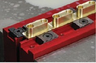"""Steel 4"""" (100mm) Vise Jaw Set without Mounting Holes includes 4 TalonGrips"""
