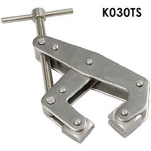 "Kant-Twist T-Handle  303 Stainless Steel Construction -3 Piece Set 2"", 3"" & 4-1/2""  Cantilever Clamps. Part No. K020TSS-3"