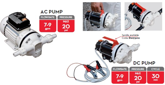 AC pump.  Part No. F0020300C.