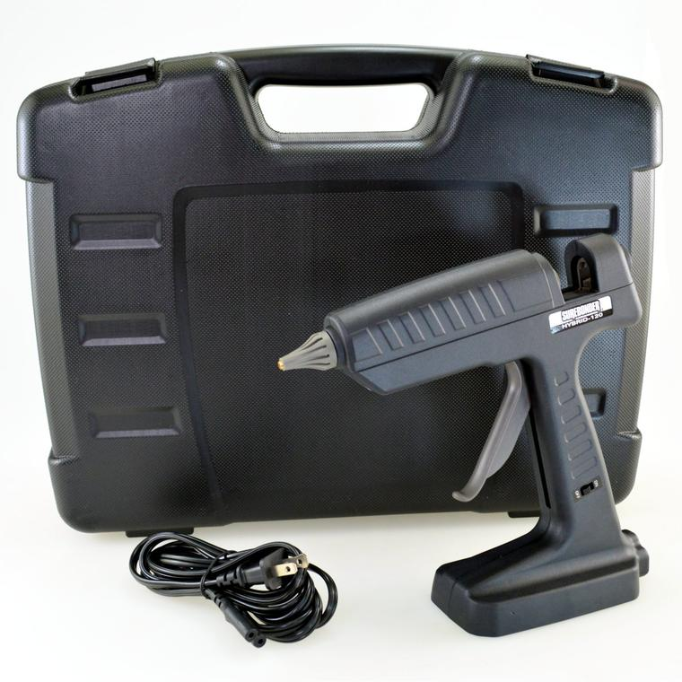 HYBRID-120 -3 Surebonder Industrial Heavy Duty  HYBRID-120 High Temperature Battery Glue Gun with Charger and Battery 3 Tool Pack- 18 volts 120 Watts
